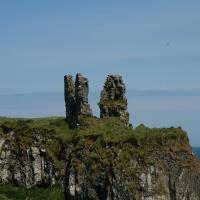 Irland 2016, die Ruine auf dem Hügel, Tag 6