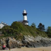 Irland 2016, der Leuchtturm am Strand (Stroove), Tag 7