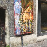 Kunst in den Gassen Bardolinos