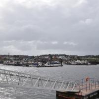 Am irischen Hafen